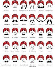 inspirace na tvary knírků :-)