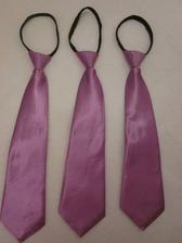 Kravaty pro kluky...ve skutečnosti jsou víc fialové