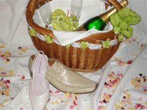 ... svadobný kôš ...