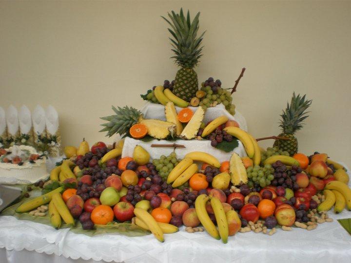 Nejaké tie predstavy :) - Aj stôl s ovocím bude...