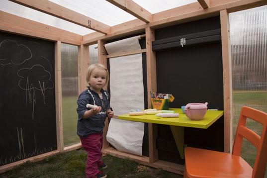 Pro děti na zahradu - tabule urcite musí být