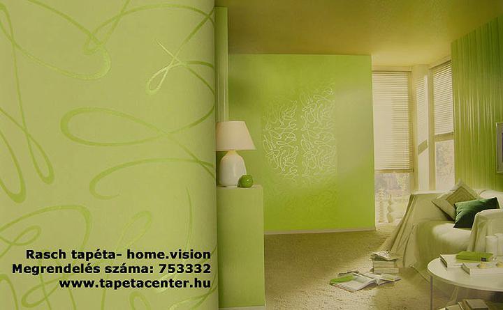 Ako mám vymalovať steny k týmto tapetám?zlatá v spálni,zelená v obyvačke - Obrázok č. 2