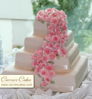 """Naše prípravy na deň """"D"""" - nádherná tortička"""
