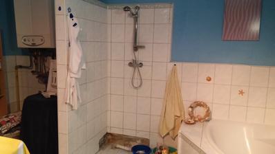 namiesto sprchoveho bude umyvadlo