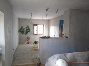 dnes sa maluje strop