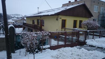 prvy sneh na novej streche