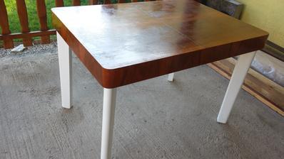 stary rozkladaci stol