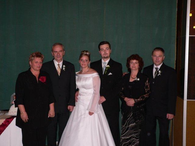 Katarína{{_AND_}}Miroslav Šebovi - s našimi rodičmi