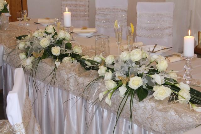 Čo sa mi páči :) - Takto bude vyzerať hlavný stol ....