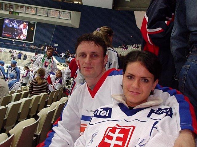 Lucia+mário - my dvaja na MS v hokeji v Ostrave