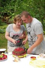 krájení dortíku :-)