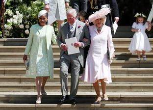 Meghanina Matka - Doria Radlan, Princ Charles a jeho manžela Camilla
