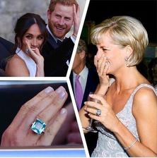 Meghan dostala od Harryho prsten, který nosila jeho matka Diana