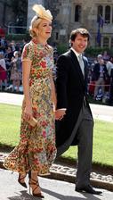 James Blunt a manželka Sofia Wellesley