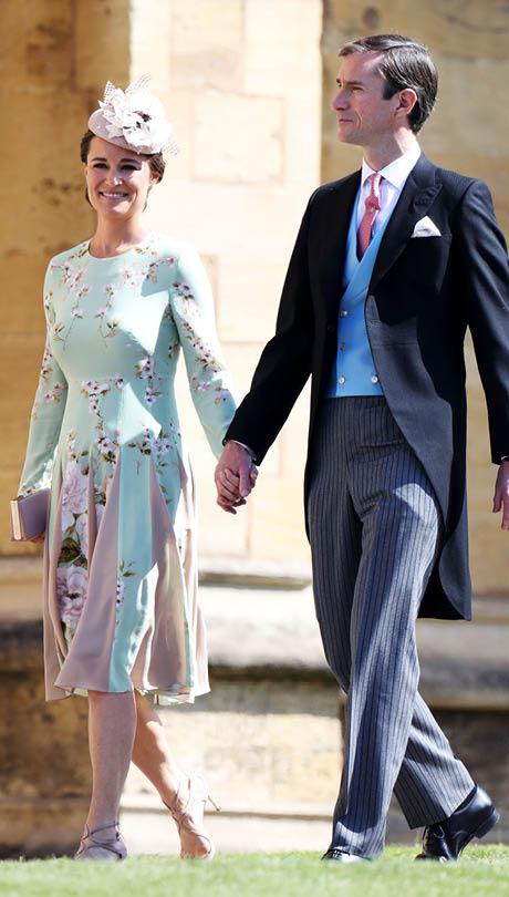 Princ Harry a Meghan Markle - Pippa Middleton s manželem
