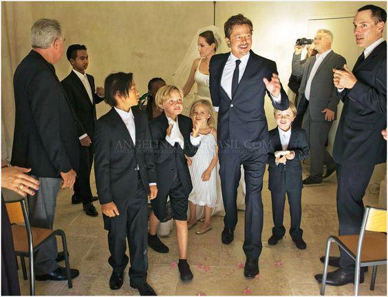 Angelina Jolie a Brad Pitt - Obrázek č. 8