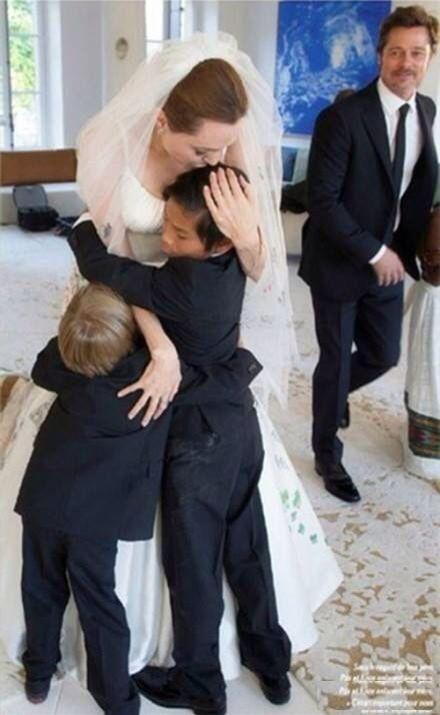 Angelina Jolie a Brad Pitt - Obrázek č. 11