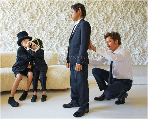 Angelina Jolie a Brad Pitt - Obrázek č. 3