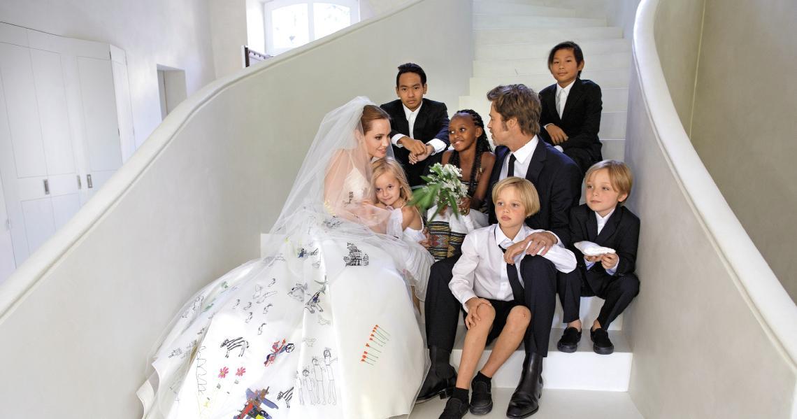 Angelina Jolie a Brad Pitt - Obrázek č. 1