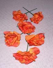 Kytka oranžová