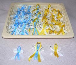 Modré pro pány, žluté pro dámy a velké pro rodiče
