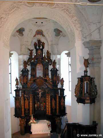 Evicka a marosko - kaplnka v kezmarskom hrade