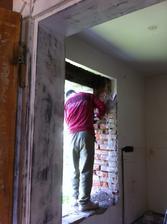 A další okno na řadě, tentokrát kuchyně.