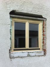 Poslední zasazené okno.