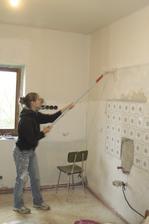 Stále malujeme kuchyň
