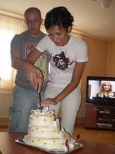 na par veci se na svatbe zapomelo a pak jsme museli krajet dort az doma