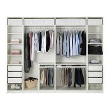 Skříně Pax, bílé posuvné dveře, Ikea