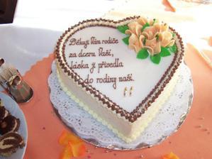 Svatební dort XVIII.