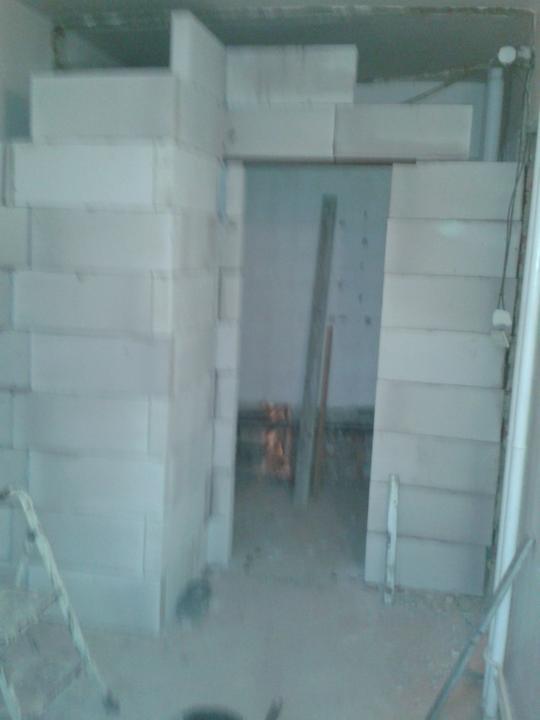 Rekonstrukce - Dostavená koupelna