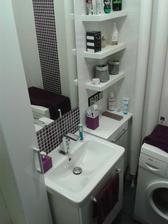 Nový nábytek do koupelny... ještě se musí trošku vyladit doplňky.