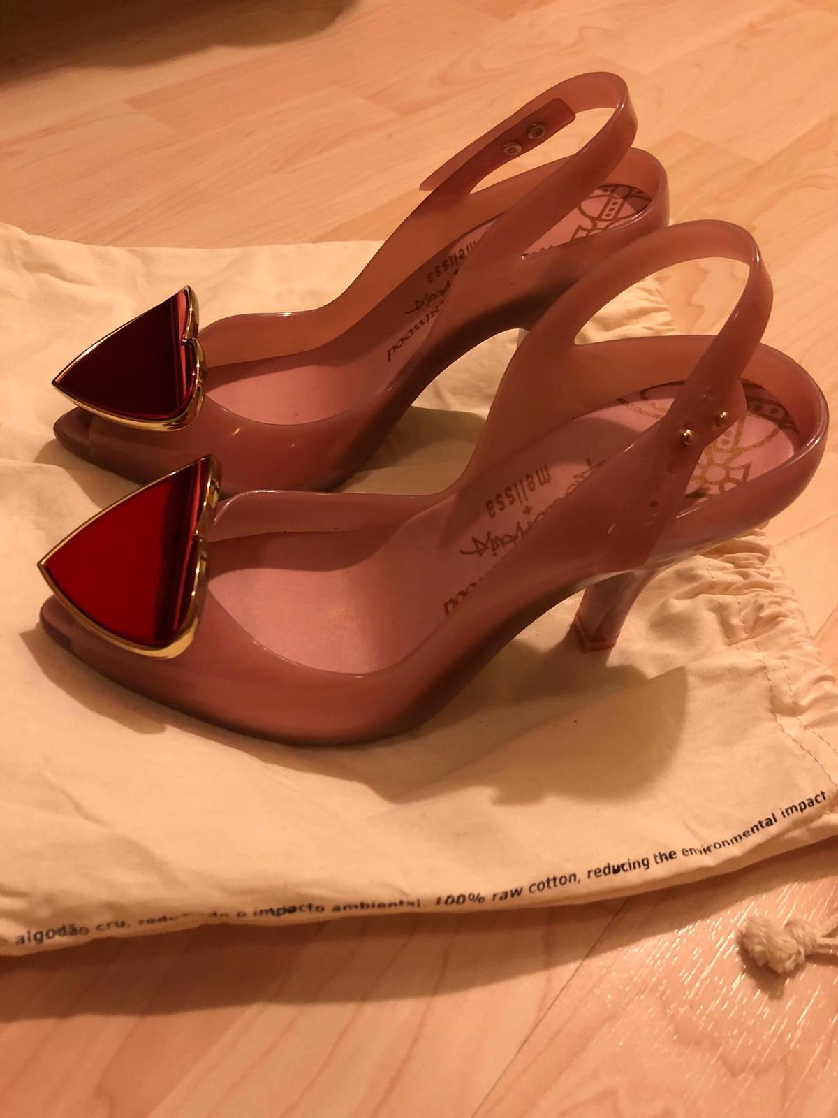 Melissa + Vivienne Westwood sandálky  - Obrázok č. 2