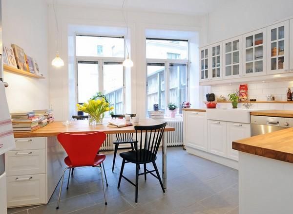 Skandinavske kuchynske inspiracie - Obrázok č. 1