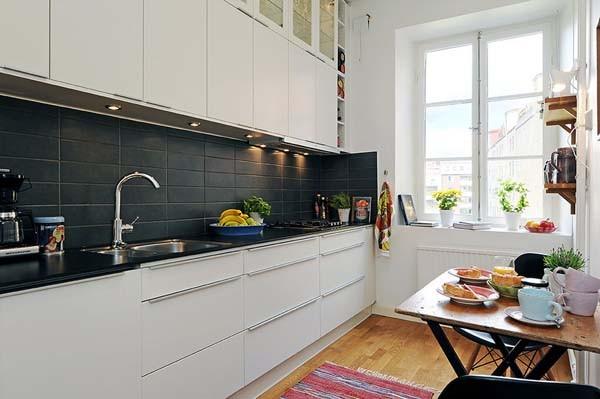 Skandinavske kuchynske inspiracie - Obrázok č. 2