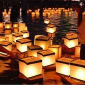 lampiony na vodu,