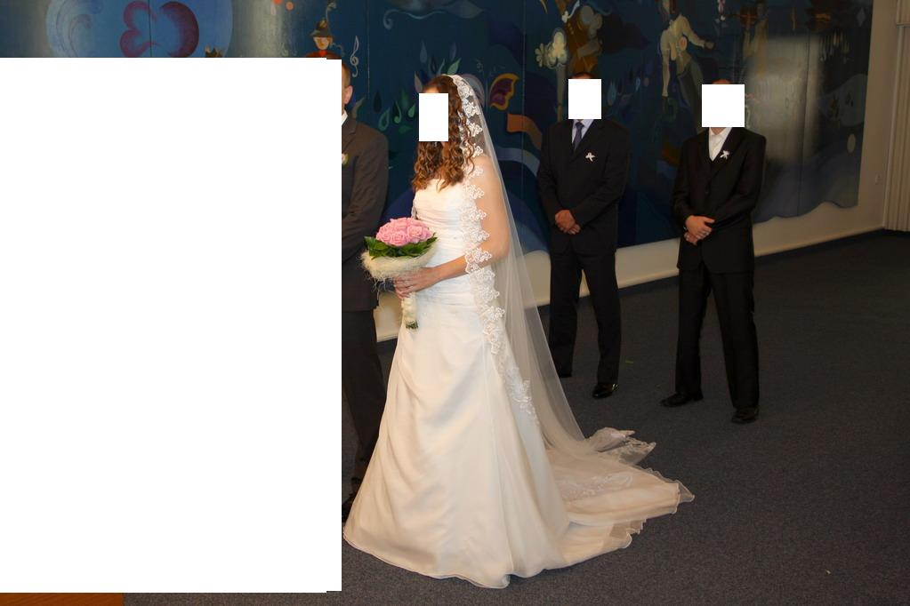 Šaty na vyššiu nevestu - Obrázok č. 2