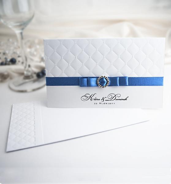 Královsky modrá pohádková svatba - inspirace