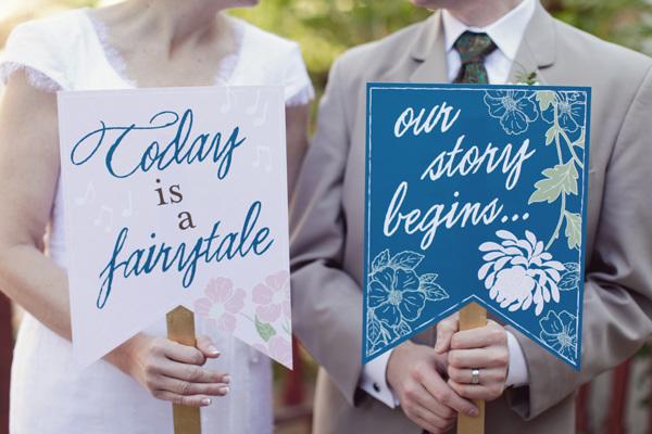 Královsky modrá pohádková svatba - Obrázek č. 65