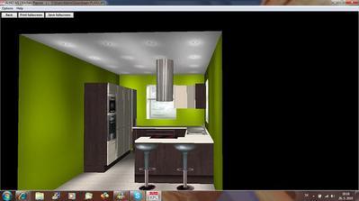 Zelena a wenge + bleda.. :) toto sa mi paci :)