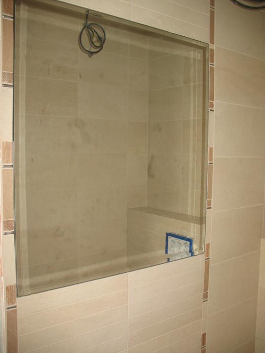 Hniezdocko II - ideme do finale... - v malom WC je zrkadlo s fazetou...