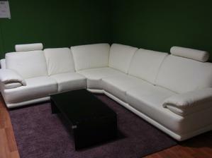 Ulovok z vystavy v NR, Eurosofa, model ELIOT :))) objednana!!!ale nie v bielej, ale smotanovej...