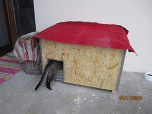 No  neviem neviem, ci sa mi to bude pacit, idem si to este raz obzrieť :-D ( na strechu potrebujeme šindel este dať, takže  stara nafukovaka je provizorna ochrana pred daždom ) :-D