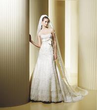 vybrate svadobne saty na modelke Fiordo La sposa