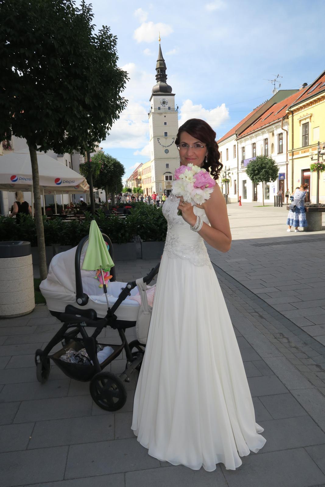 Katka {{_AND_}} Danko - nevesta s kocikom :)