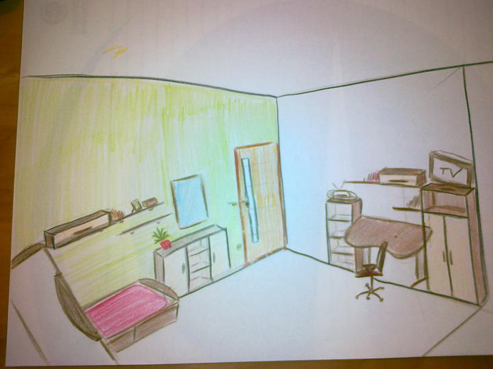 Detska - studentska izba - skusila som sa viac pohrat s alternativou, kt. je asi najreálnejsia