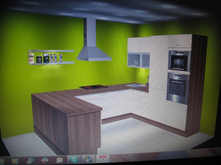 Inšpirácie - zelena stena :) len tak sa hram, ked uz:)