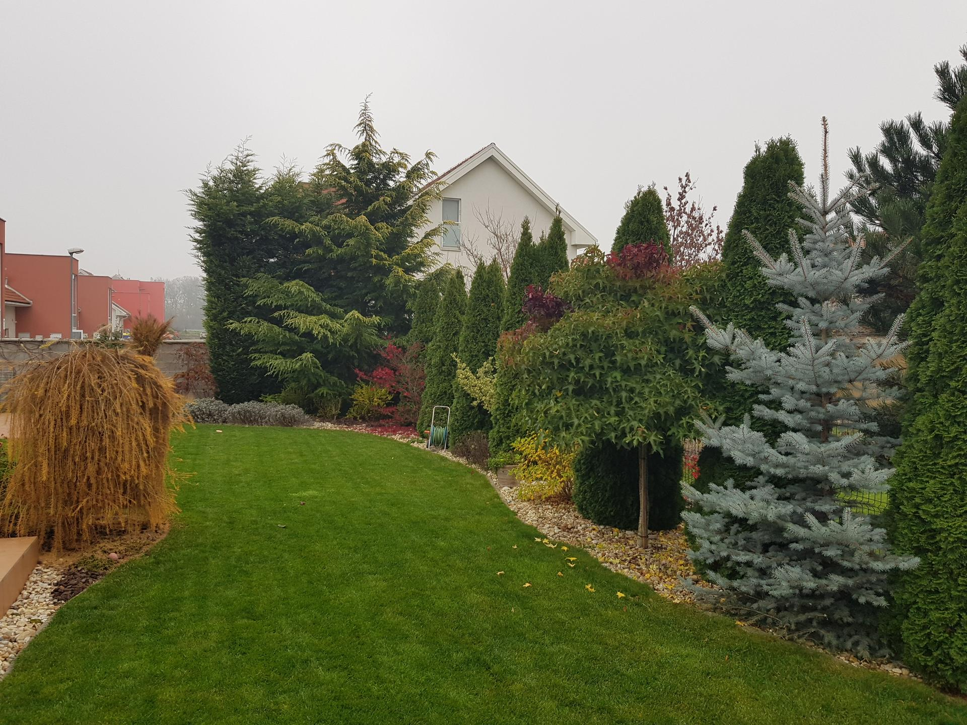 Bývame a dokončievame - Spiaca 7,5 rocna zahrada ...chystam drobne zmeny v zahonoch